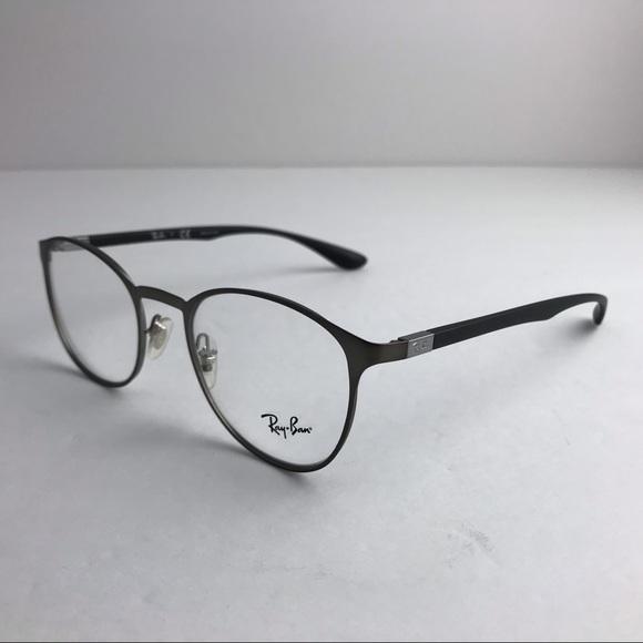 24ecd50b62 RAY-BAN prescription glasses RB6355 grey black. M 5be7da1804e33df4101c6332